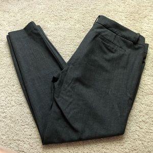 J. Crew Charcoal Grey Trouser Pants